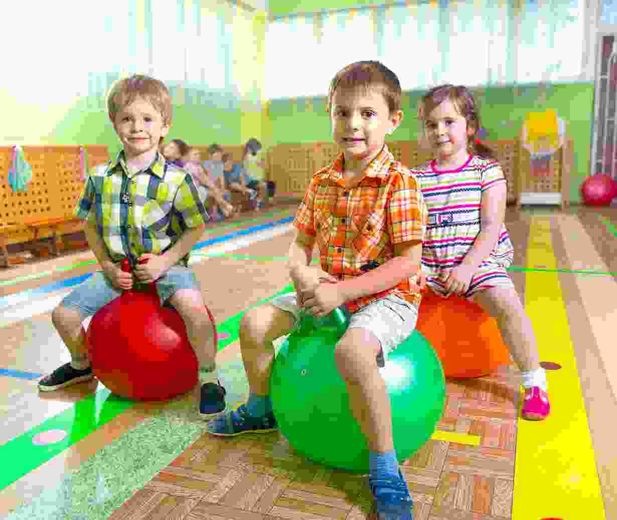 Children Aerobic Training